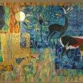A restaurált mozaikkompozíció