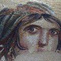 A zeugmai, eredeti mozaiktöredék