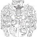 Családi címer vázlata
