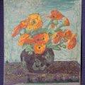 A restaurált virágcsendélet