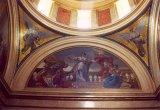 Restaurált mozaikok Deák Ferenc mauzóleumában